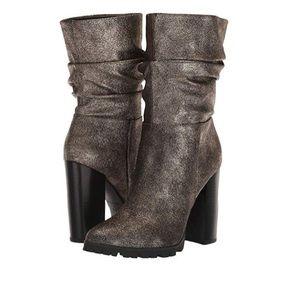 Katy Perry The Raina Gunmetal Women's Ankle Boots
